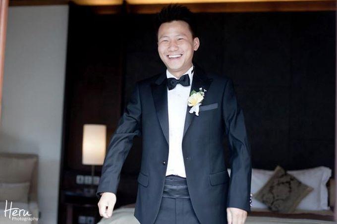 Bali Wedding Li Shun & Cong Xin at Royal Santrian Nusa Dua by Heru Photography - 009