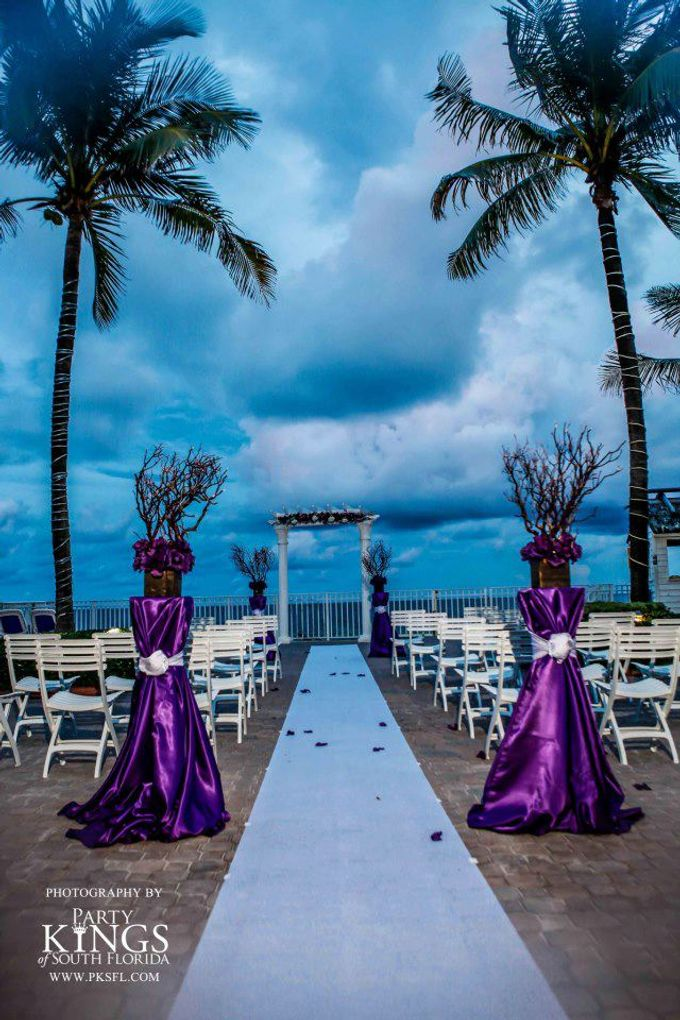Outdoor Wedding Set up by Ocean Sky Hotel & Resort - 003