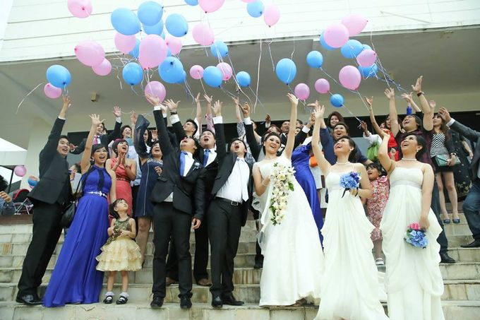 the wedding of Donald & Meliana - 23 Maret 2013 by Full House the organizer & entertainment - 014