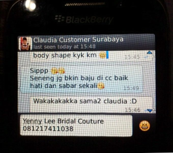 Testimonial by Yenny Lee Bridal Couture - 001