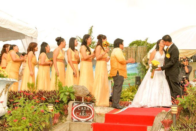 Beautiful Outdoor Garden Wedding by Casa De Carlo - 002