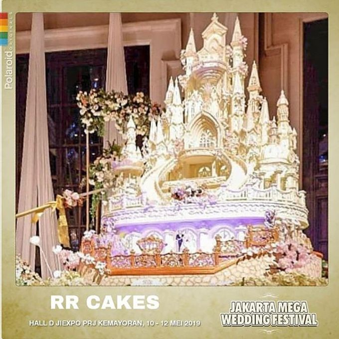 Wedding Cake - Real Wedding by RR CAKES - 005