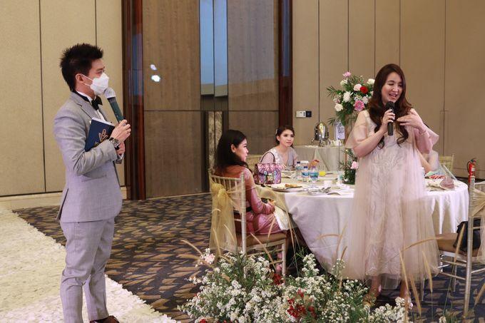MC Wedding Intimate at Sheraton Gandaria Jakarta by Anthony Stevven by Anthony Stevven - 015