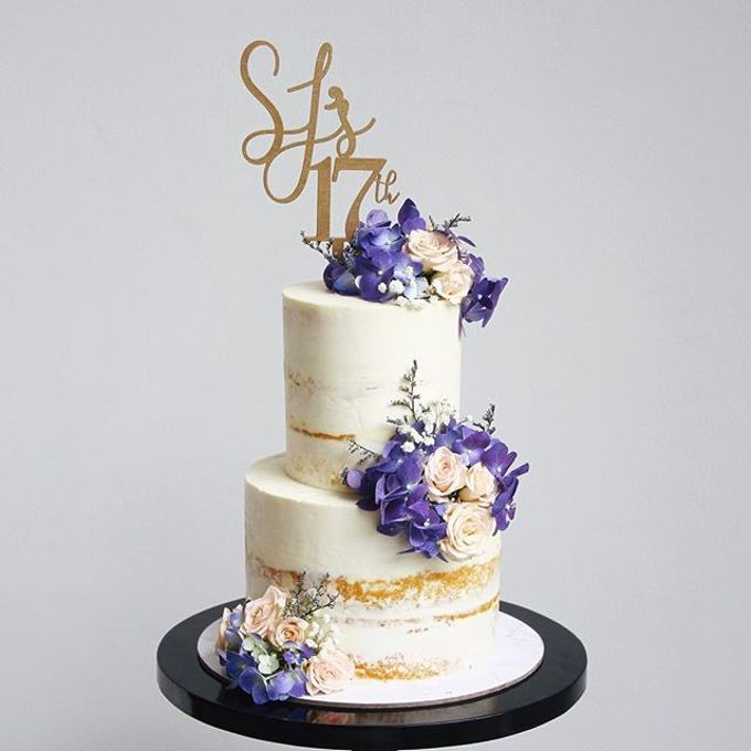 Tiered and Wedding Cakes 2019 by WoodLove - 005