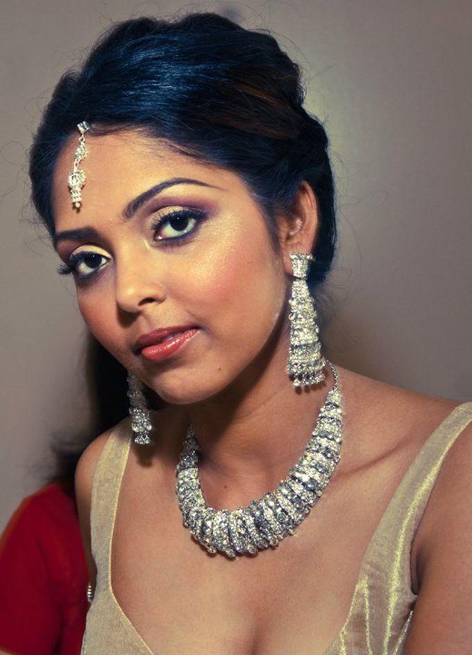 Indian Brides by Elza Finishya Makeup Artist - 004