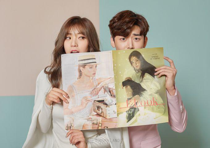Korea Pre-Wedding Photoshoot - Studio 29 by Willcy Wedding by Willcy Wedding - Korea Pre Wedding - 035