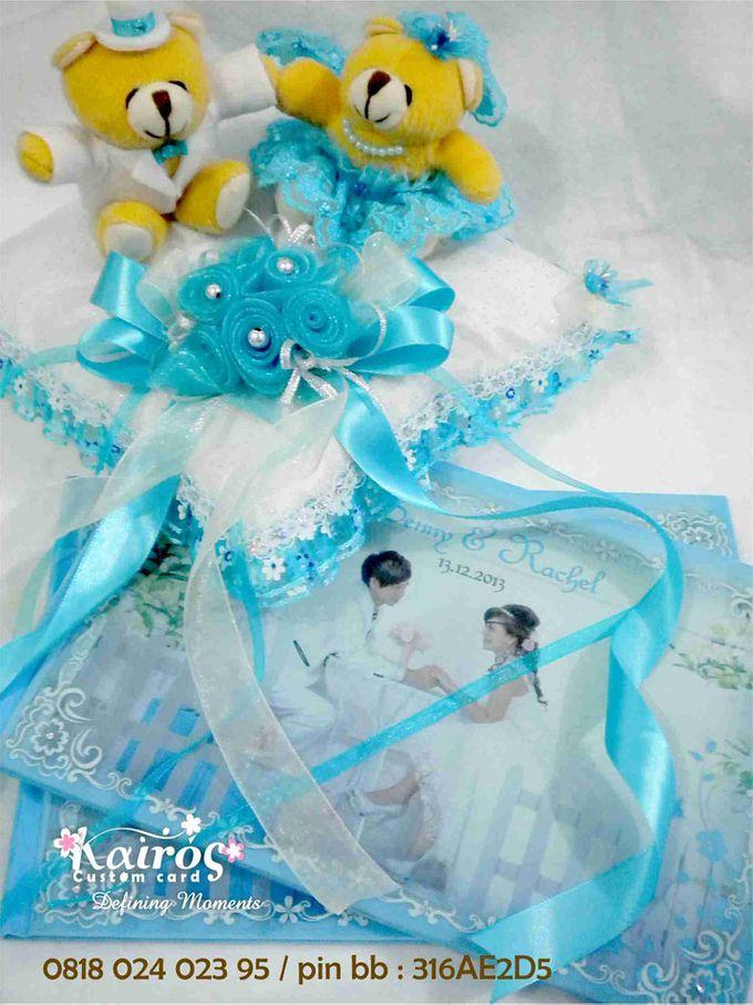 Benny & Rachel Stationery set by Kairos Wedding Invitation - 002