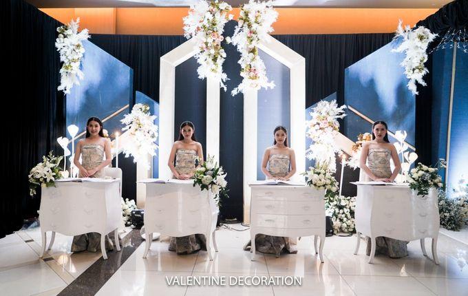 Jason & Devina Wedding Decoration by Valentine Wedding Decoration - 046