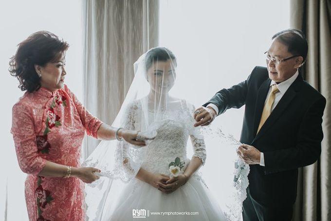 Hansen & Cynthia Wedding Day by RYM.Photography - 020