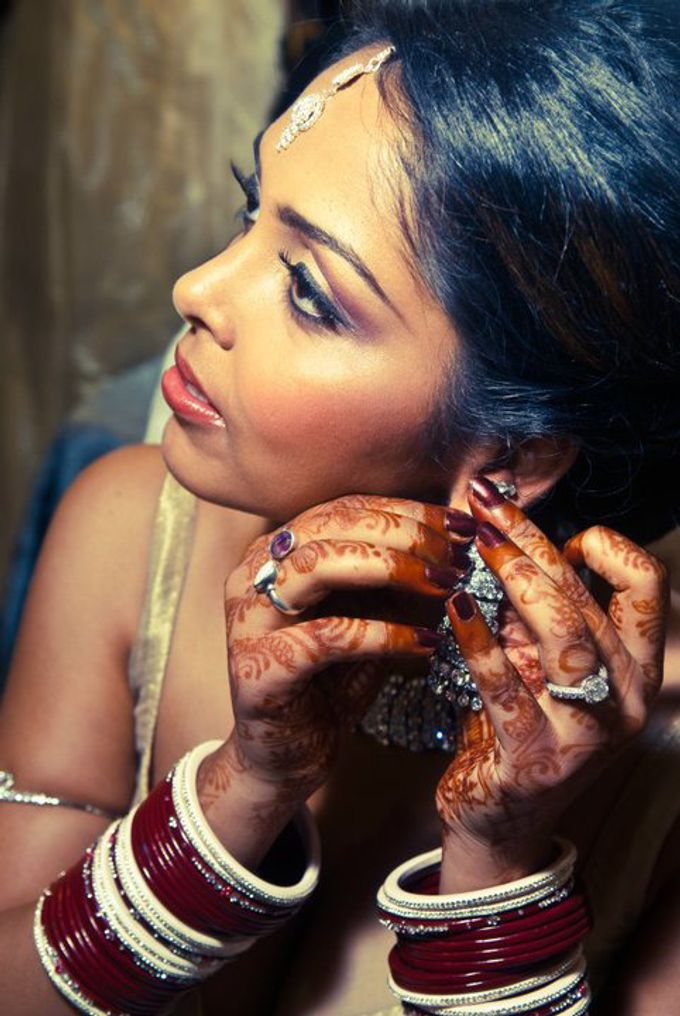 Indian Brides by Elza Finishya Makeup Artist - 005