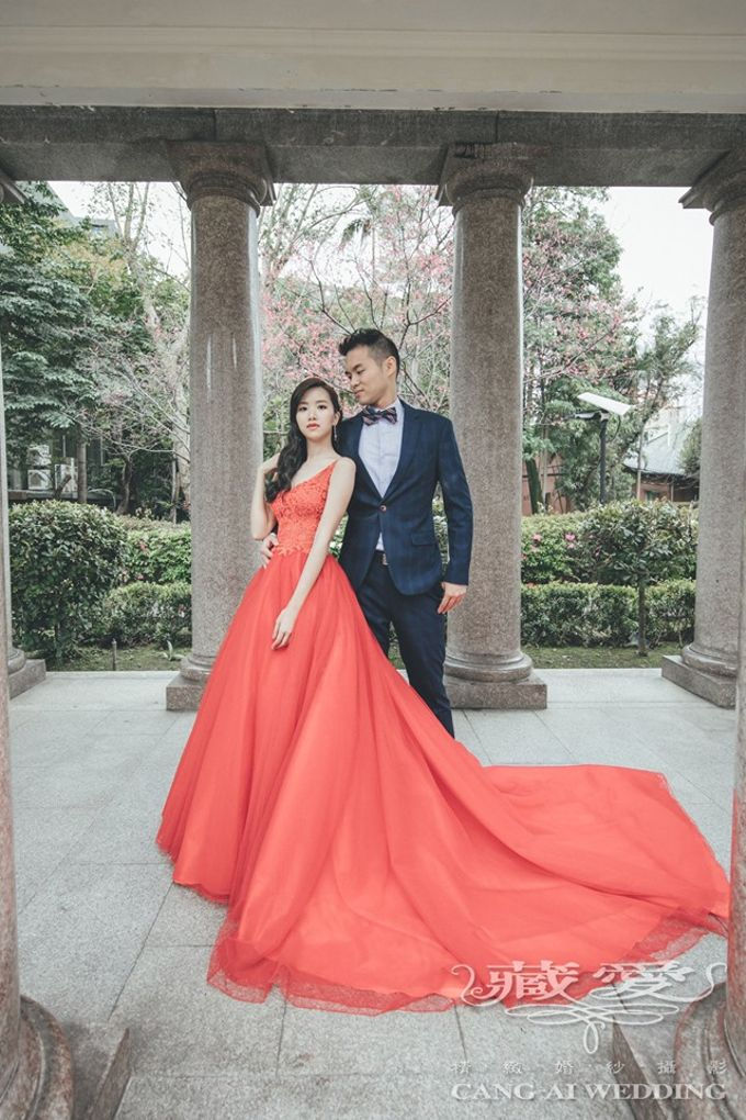 Taipei University by Cang Ai Wedding - 001