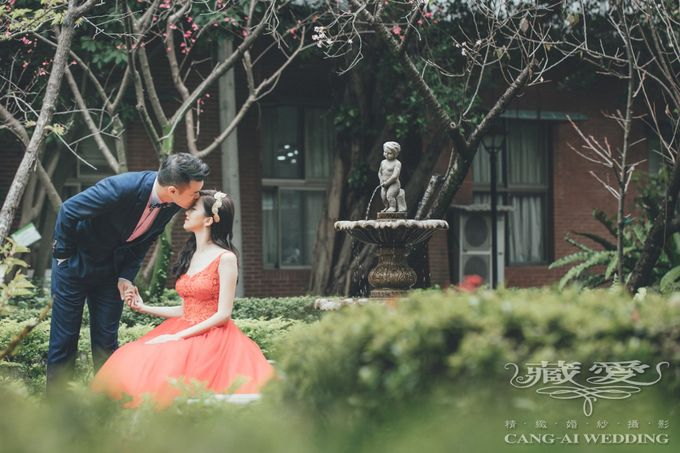 Taipei University by Cang Ai Wedding - 002