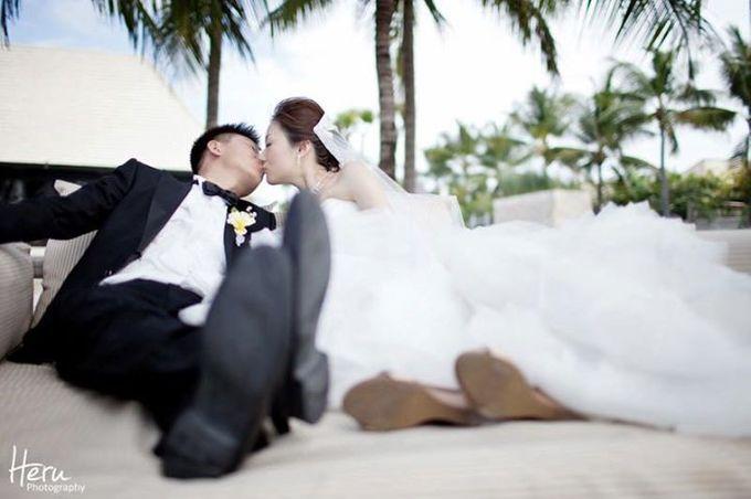 Bali Wedding Li Shun & Cong Xin at Royal Santrian Nusa Dua by Heru Photography - 018