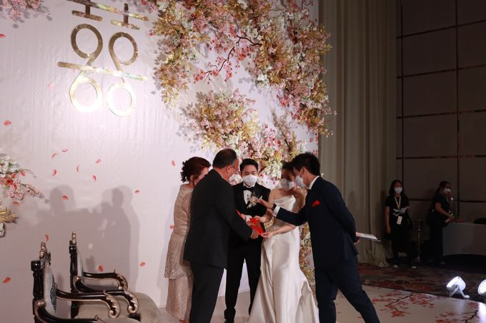 MC Teapai and New Normal Intimate Wedding Fairmont Hotel Jakarta - Anthony Stevven by Anthony Stevven - 019