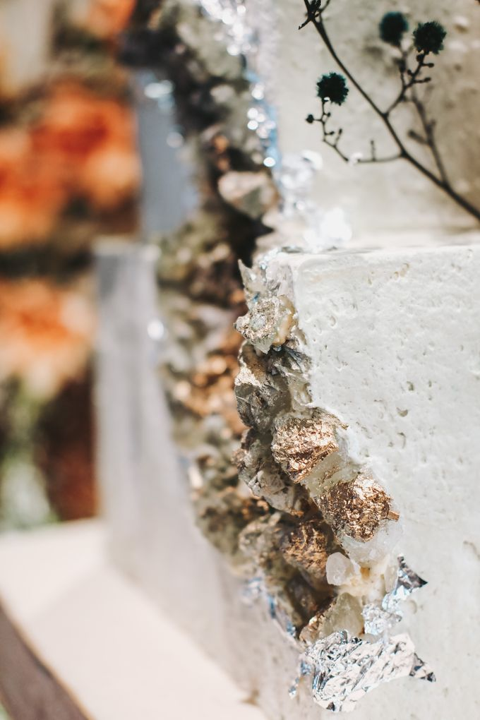 This Wedding is made intimate but not just that, every single details made personal to the bride and groom. In the midst of the pandemic, we understan by KAIA Cakes & Co. - 017