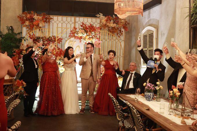 MC Wedding Intimate at Blue Jasmine Jakarta - Anthony Stevven by Anthony Stevven - 033