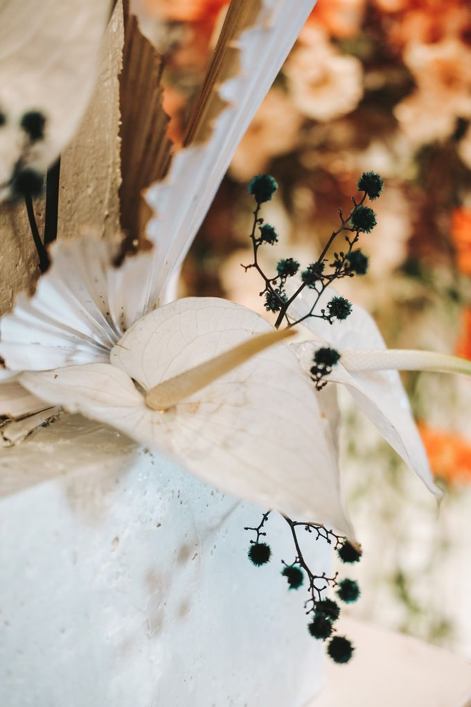 This Wedding is made intimate but not just that, every single details made personal to the bride and groom. In the midst of the pandemic, we understan by KAIA Cakes & Co. - 018