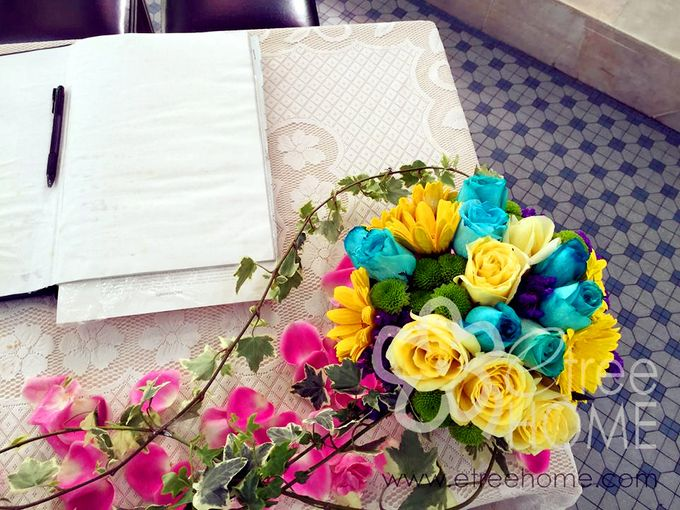 Blue Yellow Wedding by etreehome - 005