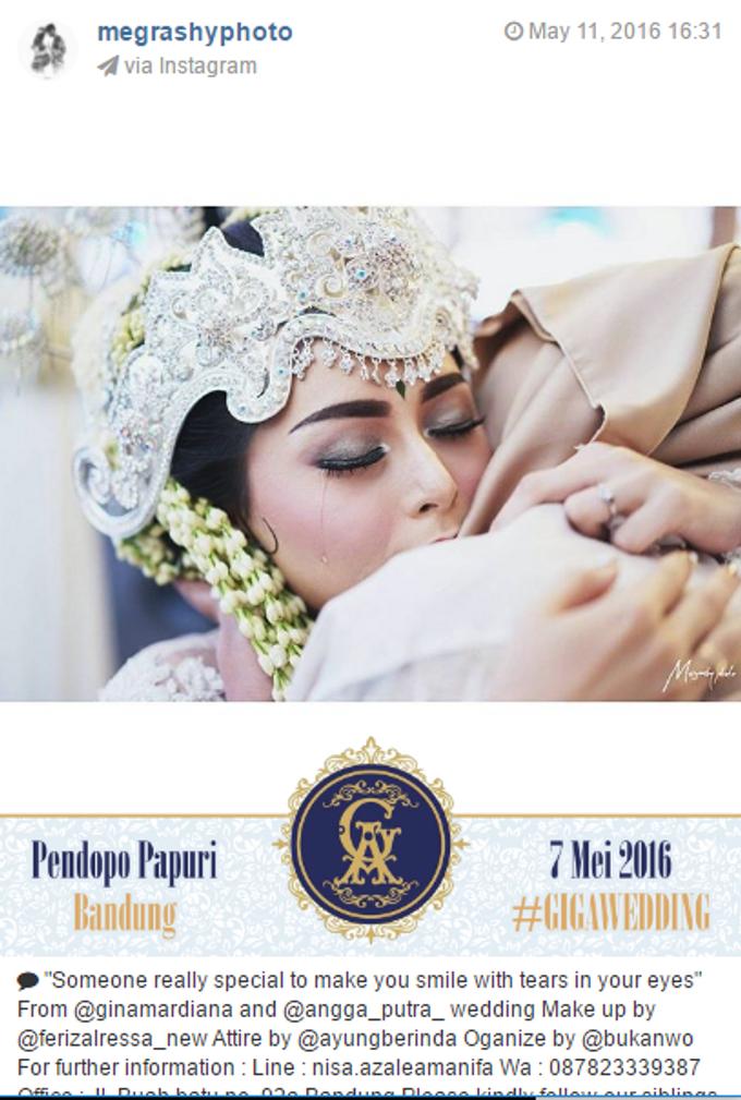 Pernikahan Gina & Angga by Jepret Allegra Instant Print - 005