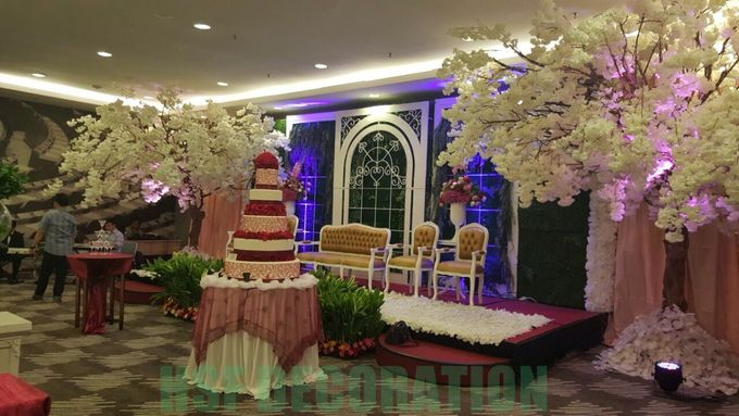 Wedding Decoration by Home Smile Florist - 005