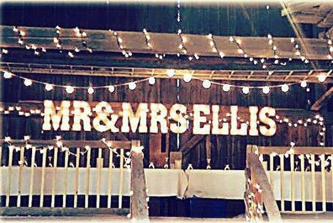 Wedding Sign by Mr & Mrs Signs - 004