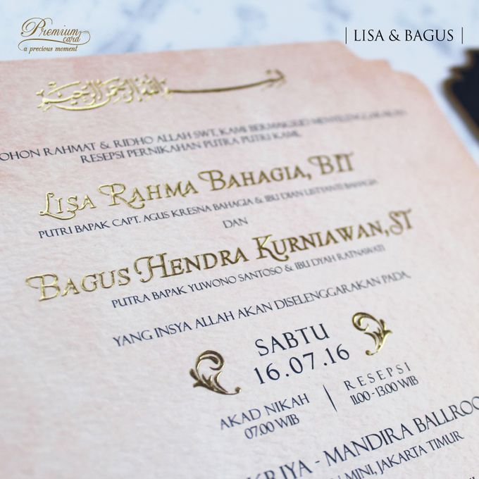 Lisa bagus wedding invitation by premium card bridestory add to board lisa bagus wedding invitation by premium card 005 stopboris Images