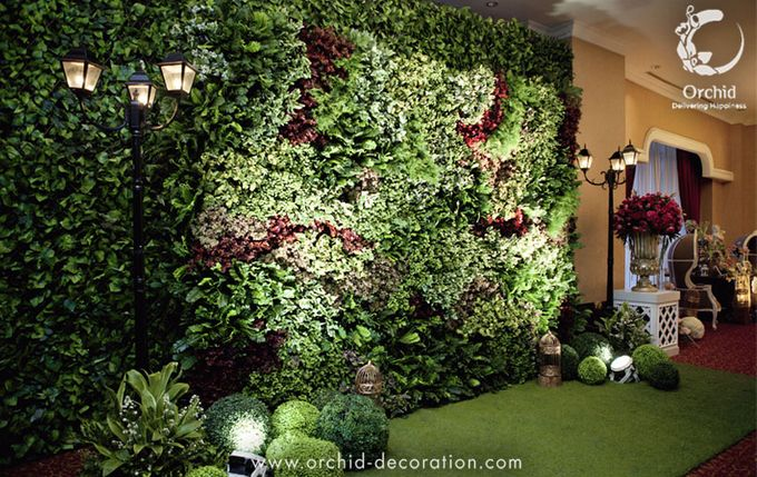 Life began in a garden by Orchid Florist and Decoration - 006