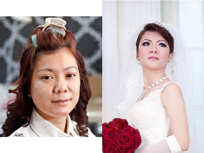 before & after by Xin-Ai Bride - 035