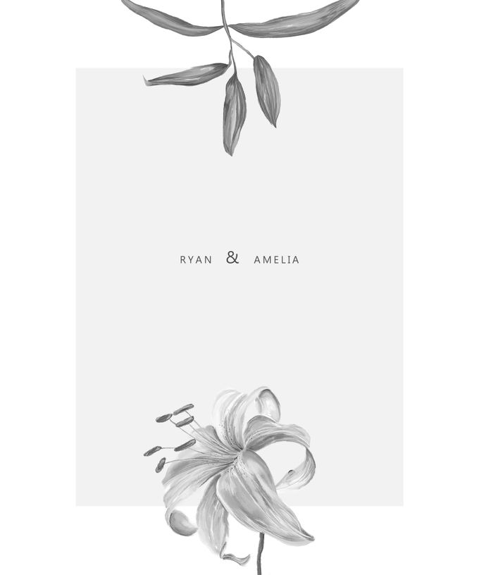 Botanical Wedding Invitation by Tokoku - 005