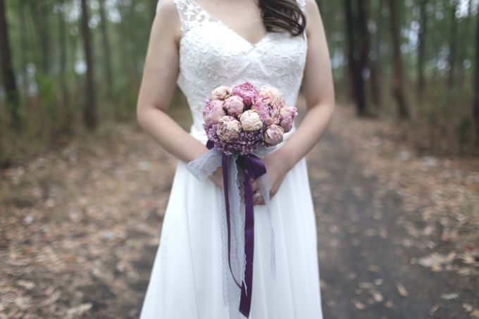 Preserved Bridal Bouquet by One Olive - 005