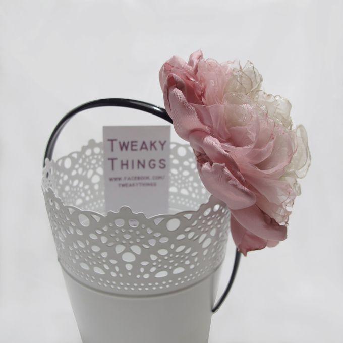 Fabric flower - Headband by TweakyThings - 005
