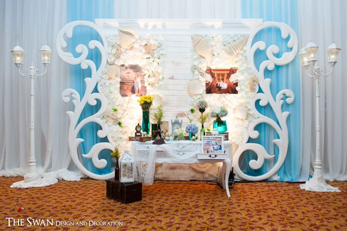 Ocean theme chan angie wedding decoration by the swan decoration add to board ocean theme chan angie wedding decoration by the swan decoration 001 junglespirit Choice Image