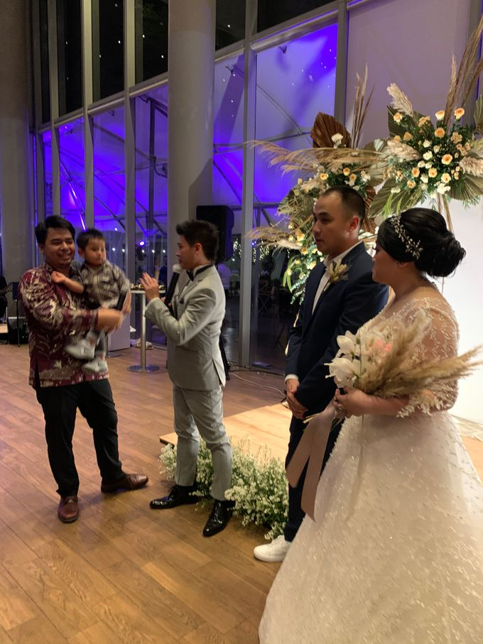 Jazz Wedding Entertainment - Double V  Entertainment with Anthony stevven MC  Intimate Open Restaurant Double Tree Jakarta by Anthony Stevven - 008