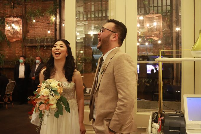 MC Wedding Intimate at Blue Jasmine Jakarta - Anthony Stevven by Anthony Stevven - 026