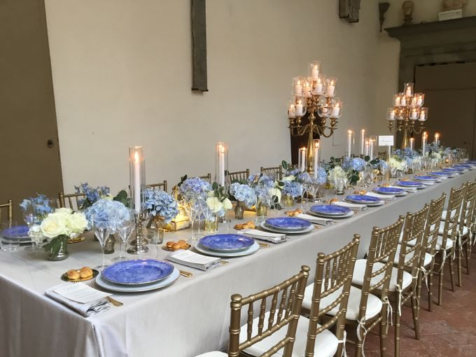 A blue wedding by C&G Wedding and Event Designer - 007