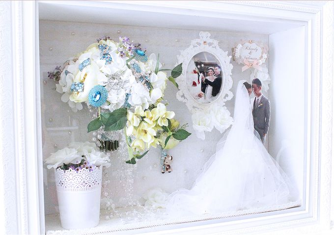 Frame Bouquet by Cup Of Love Design Studio - 007