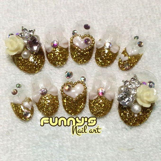Wedding Nails by Funny's Nail art - 004