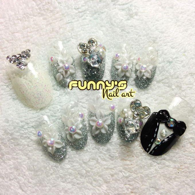 Wedding Nails by Funny's Nail art - 006