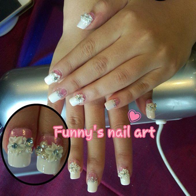 Wedding Nails by Funny's Nail art - 018