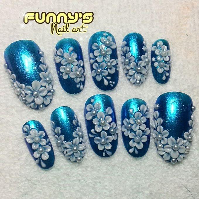 Wedding Nails by Funny's Nail art - 008