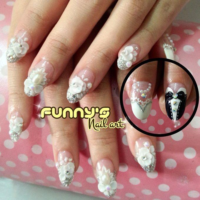 Wedding Nails by Funny's Nail art - 013
