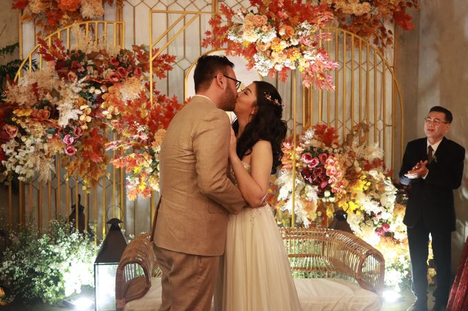MC Wedding Intimate at Blue Jasmine Jakarta - Anthony Stevven by Anthony Stevven - 015