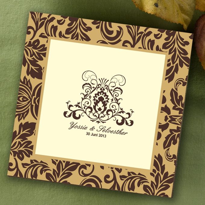 The wedding Yossie & Sylvester by Agape Card - 001