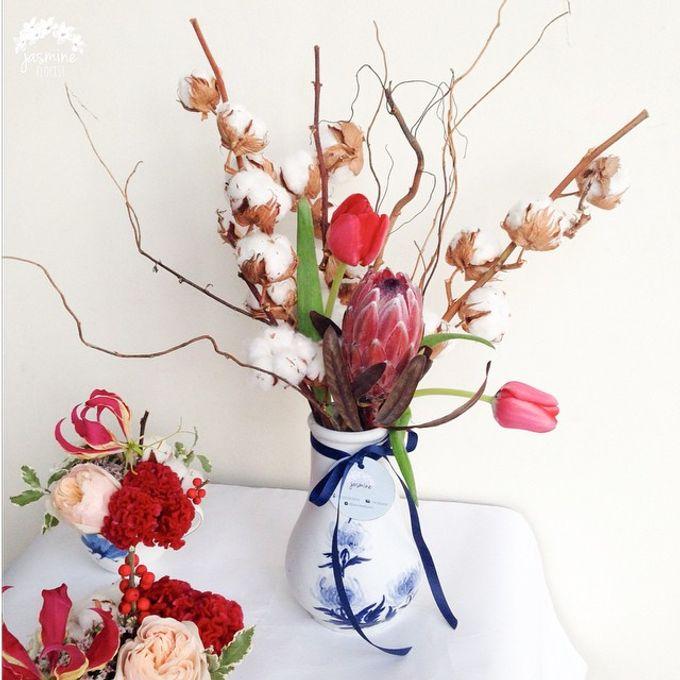 Event Flowers by Jasmine Florist - 004