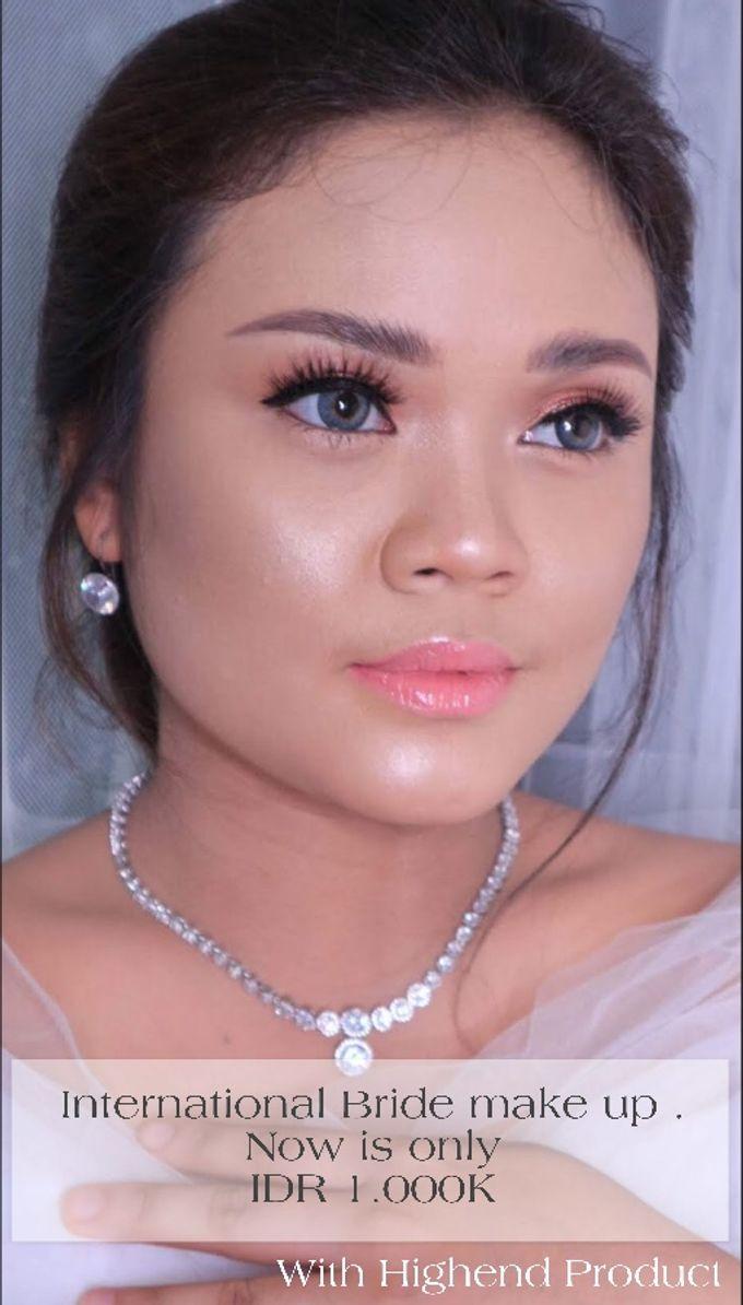 International Bride Make Up .  Ms. debora by Pangestwury MakeOver - 003
