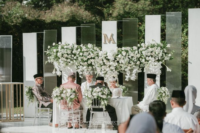 The Modern and Elegant Wedding Ceremony of Monica and Allen by Elior Design - 020