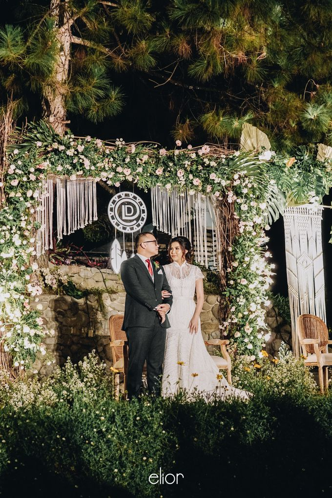 The Wedding of Lidia Dhany by Elior Design - 027