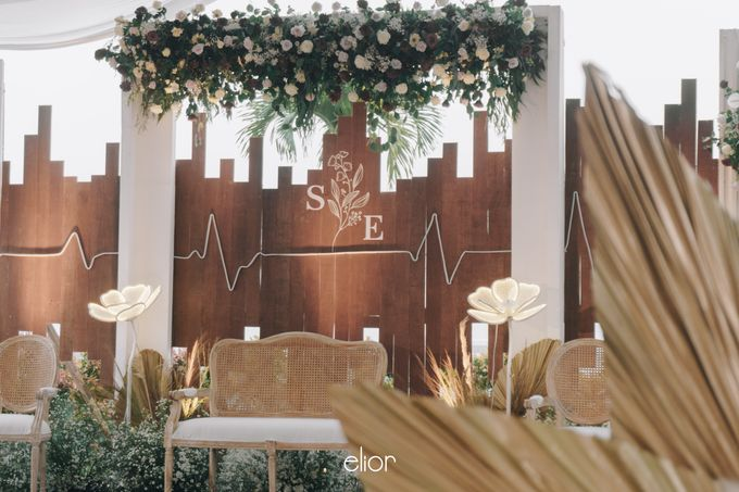 The Wedding of Steven & Evelyn by Elior Design - 013