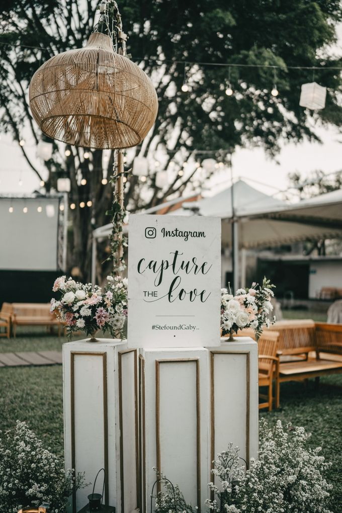 The Wedding of Stephan & Gabby by Elior Design - 021