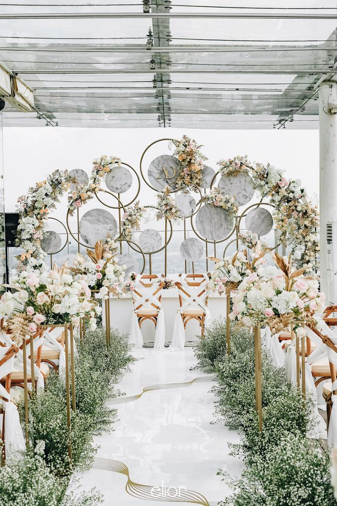 The Wedding of Aya and Dimas by Elior Design - 009